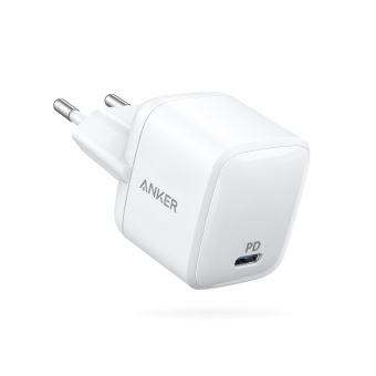 Chargeur secteur Anker USB-C Atom PD1 30 W Blanc