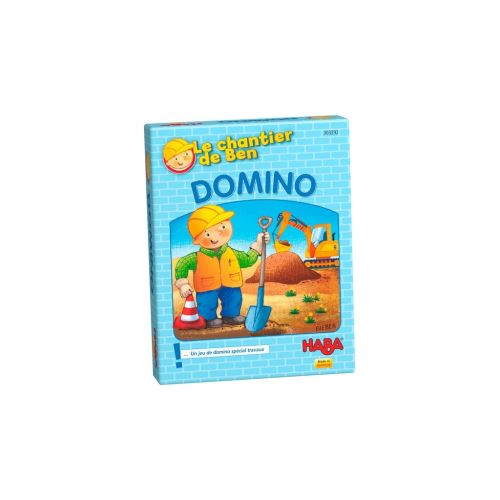 Jeu de cartes Le chantier de Ben Domino Haba
