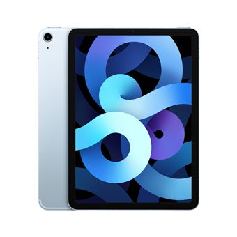 Photo de apple-ipad-air-4e-generation-bleu-ciel-64-go-wi-fi