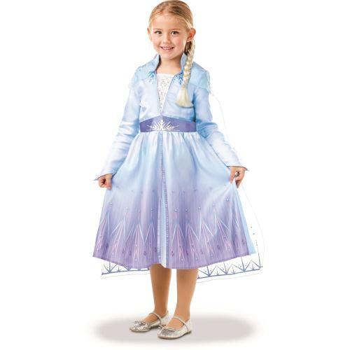 Panoplie et 1 accessoire Disney La Reine des neiges Elsa Taille S