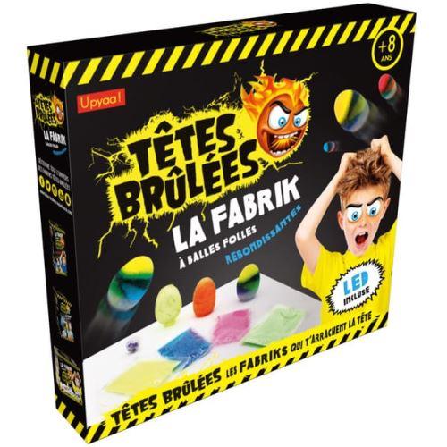 Kit créatif La Fabrik à balles rebondissantes avec Led Têtes Brûlées