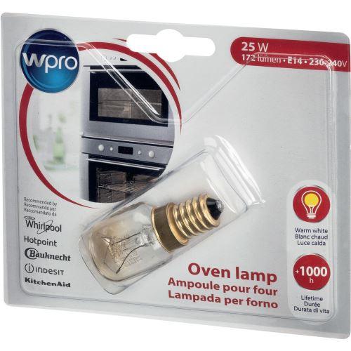 Ampoule pour four Wpro 25 W 172 lumen Blanc chaud