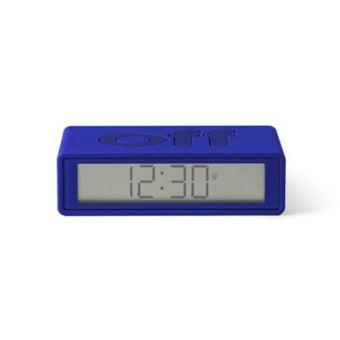 Radio Réveil réversible LCD Lexon Flip+ Bleu