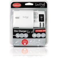 Hähnel UniPal Plus - adaptateur d'alimentation - CA / voiture + chargeur de batterie