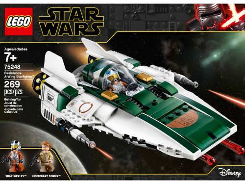 LEGO® Star Wars™ Episode IX 75248 A-Wing Starfighter™ de la Résistance