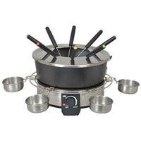 Appareil à fondue Kitchen Chef KSFD07 1000 W Argent et Noir