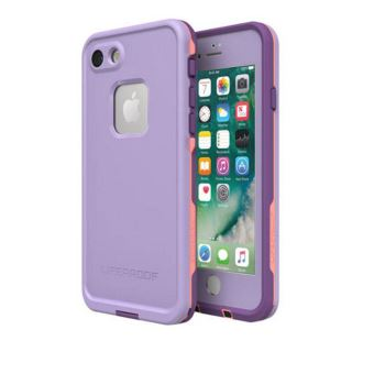 LIFEPROF FRE CASE IPHONE 7/8 CHAKRA PURPLE