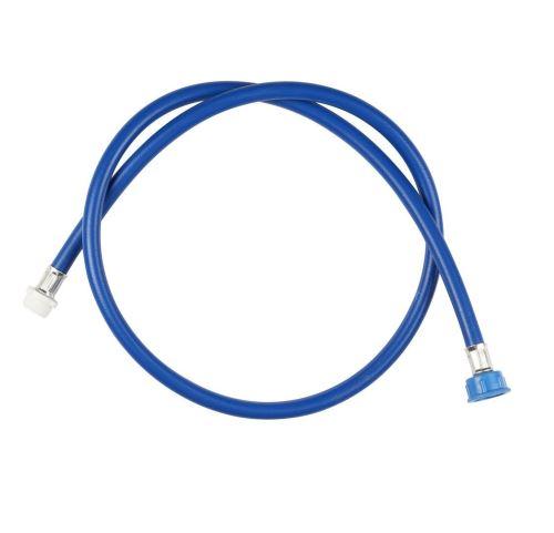 Rallonge tuyau d'arrivée d'eau froide Wpro 1,5 m Bleue
