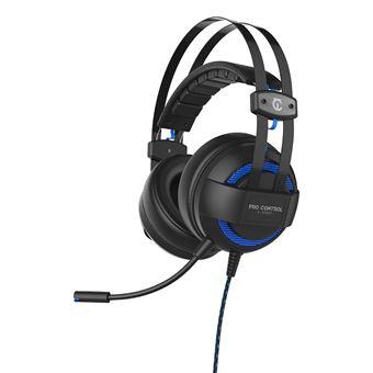 Micro-casque Gaming filaire 7.1 Under Control Pro Control E-Sport Noir pour PS4