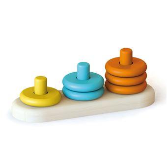 Ábaco Montessori Anillas de colores