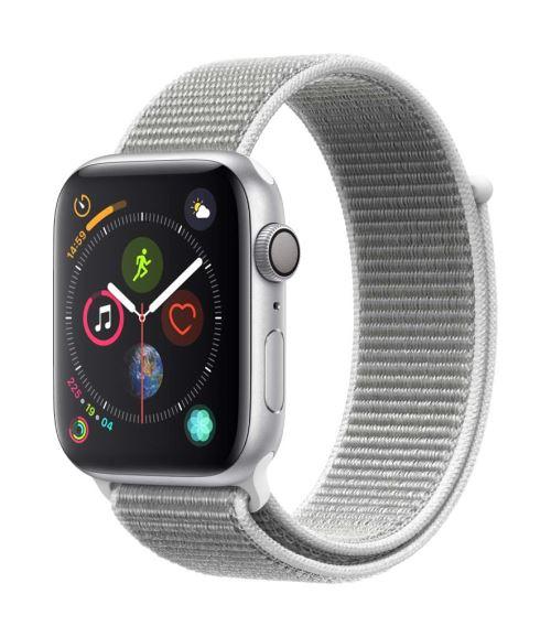 Apple Watch Series 4 44 mm Boîtier en Aluminium Argent avec Boucle Sport Coquillage - Montre connectée. Remise permanente de 5% pour les adhérents. Commandez vos produits high-tech au meilleur prix en ligne et retirez-les en magasin.