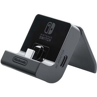 Support de recharge inclinable Nintendo Noir pour Switch