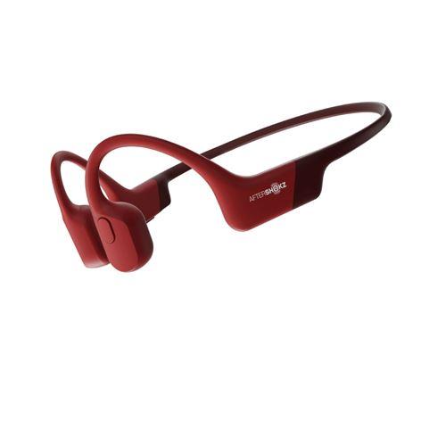 Ecouteurs sans fil Aftershokz Aeropex Rouge