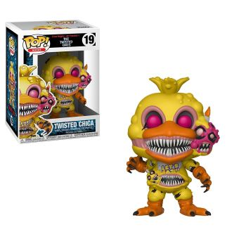 Figurine Funko Pop Books Five Nights At Freddy's Twisted Chica