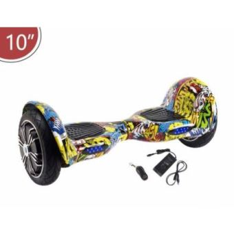 hoverboard 10 pouces graffiti tout terrain bluetooth gyropode skateboard lectrique achat. Black Bedroom Furniture Sets. Home Design Ideas
