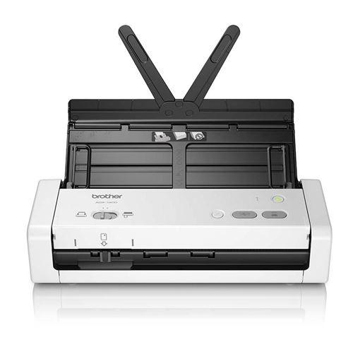 Scanner à plat Brother ADS-1200 Blanc et Noir