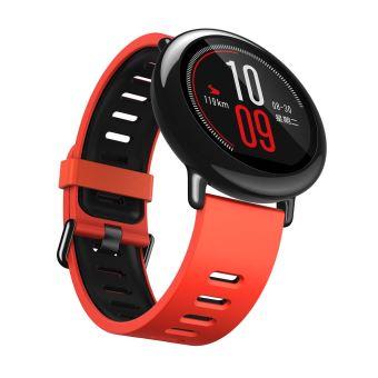 Xiaomi Mi Amazfit Pace Verbonden Horloge Rood en Zwart