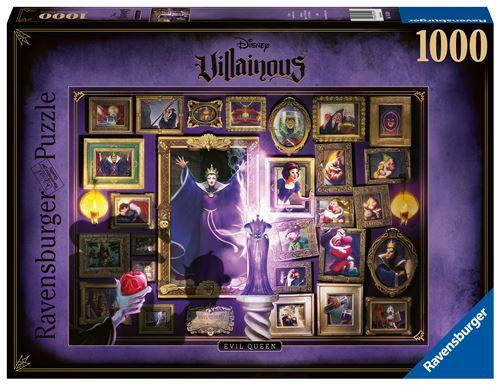 Puzzle 1000 pièces Ravensburger Disney Villainous Méchante Reine-Sorcière