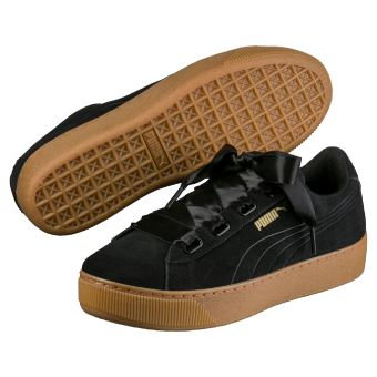 Ribbon Chaussures Hfxenwhs Vikky Puma Femme Taille 36 Noires jLR534A