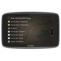 GPS TomTom Go Professional 6200 Cartes d'Europe pour grands véhicules à vie + Traffic et Zones de danger 1 an