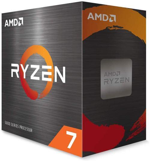 Processeur AMD Ryzen 7 5800X 4.7 GHz Paquet AM4