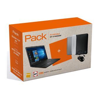 75 59 Sur Pack Fnac Pc Portable Hp 15 Da0025nf 15 6 Souris