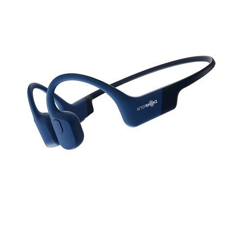 Ecouteurs sans fil Aftershokz Aeropex Bleu