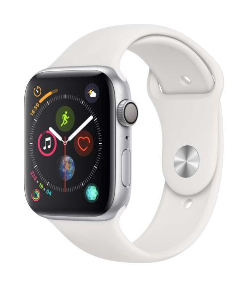 Apple Watch Series 4 44 mm Boîtier en Aluminium Argent avec Bracelet Sport Blanc - Montre connectée. Remise permanente de 5% pour les adhérents. Commandez vos produits high-tech au meilleur prix en ligne et retirez-les en magasin.