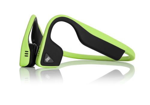 Ecouteurs Bluetooth AfterShokz Trekz Titanium Vert lierre