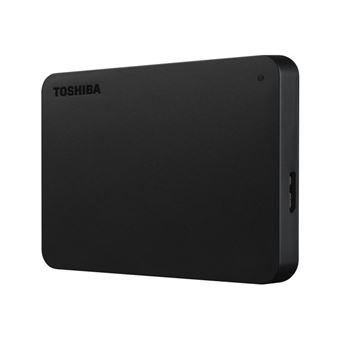 Toshiba Canvio Basics - Vaste schijf - 3 TB - extern (draagbaar) - USB 3.0 - zwart