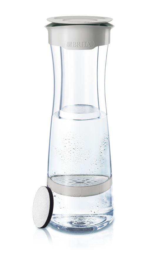 Bouteille filtrante Brita Fill and Serve 1,3L Gris