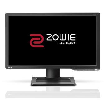 """BenQ ZOWIE XL Series XL2411P - eSports - LED-monitor - 24"""" - 1920 x 1080 Full HD (1080p) - TN - 350 cd/m² - 1000:1 - 1 ms - HDMI, DVI-D, DisplayPort - grijs"""