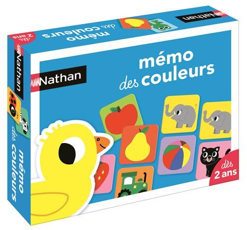 Mémo des couleurs Nathan