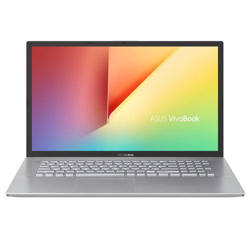 """PC Portable Asus VivoBook S712JA-AU407T 17.3"""" Intel Core i5 8 Go RAM 512 Go SSD Argent transpar"""