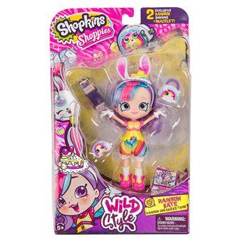 Poupée Shopkins Shoppies Wild Style Rainbow Kate
