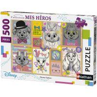 Jeu puzzle Disney Fashion 500 pièces Nathan