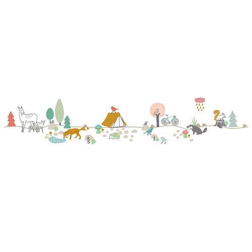 Sticker mural Mimi'lou Frise Forêt