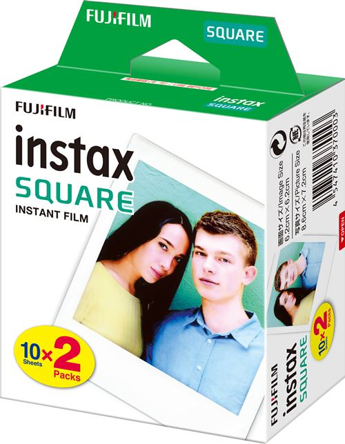 JXE Album photo livre 64 poches pour pellicules Fujifilm Instax Square SQ10.