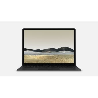 PC Ultra-Portable Microsoft Surface Laptop 3 15'' AMD Ryzen 5 8 Go RAM 256 Go SSD Noir