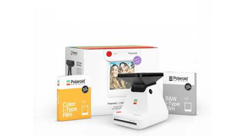 Pack Imprimante Photo instantanée Polaroid Originals Polaroid Lab Blanc et 2 films i-Type