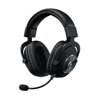 Logitech G Pro - Koptelefoon - over oor - met bekabeling - 3,5 mm-stekker - ruisisolatie