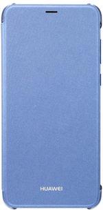 Etui Flip Cover Huawei Bleu pour P Smart