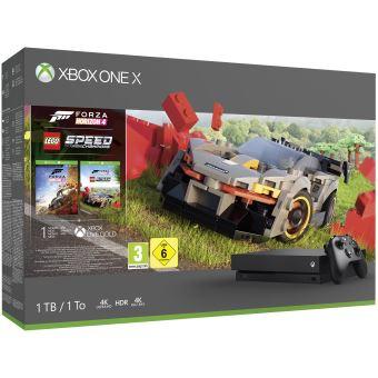 Pack Xbox One X 1  To + Forza Horizon 4 LEGO®