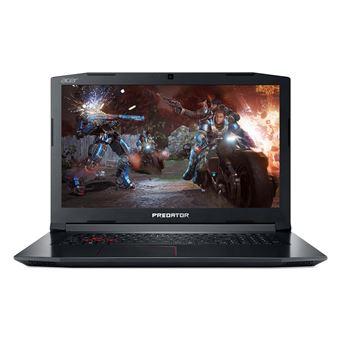 """Acer Predator Helios 300 PH315-51-73HJ NH.Q3FEF.019 15.6"""" 256GB SSD + 1TB HDD 8GB RAM i7-8750H 4.1GHz GF GTX 1060 Gaming Laptop"""