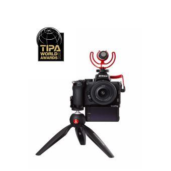 Photo de kit-appareil-photo-hybride-nikon-z50-noir-objectif