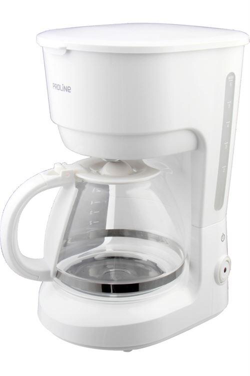 Cafetière filtre Proline CM75 600 W Blanc