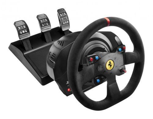 Volant Thrustmaster T300 Ferrari Racing Wheel Edition Alcantara pour PS4 et PS3