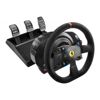 THRUST T300 FERRARI INT. RACING WHEEL + PEDALS PS4/PS3/PC