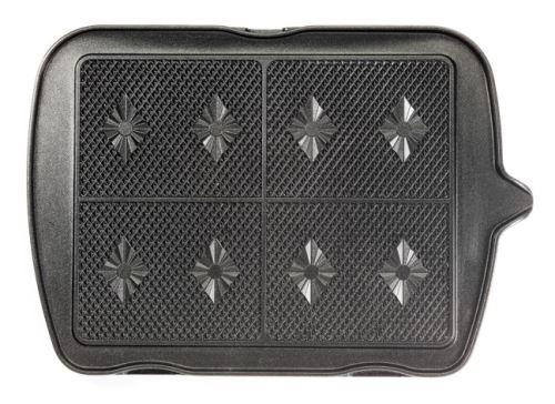 Jeu de plaques Premium Gaufres Lagrange pour 4 gaufrettes 010222 Noir