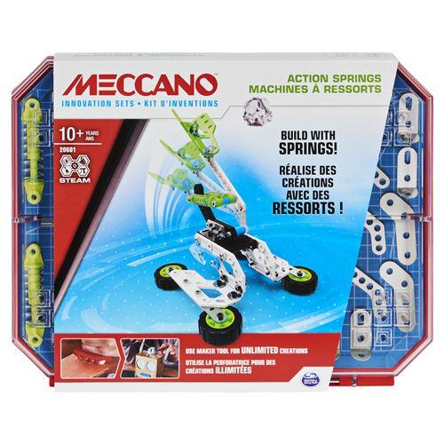 Kit d'inventions Meccano Ressorts Set 4